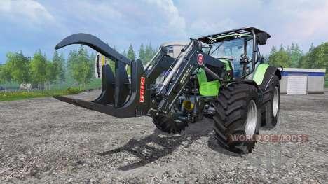 Deutz-Fahr Agrotron 7250 TTV v2.0 forest pour Farming Simulator 2015