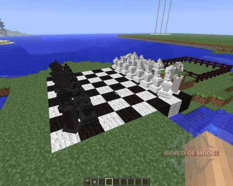 MineChess [1.5.2] pour Minecraft