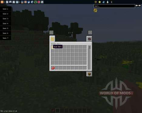 Golden Bars [1.7.10] pour Minecraft