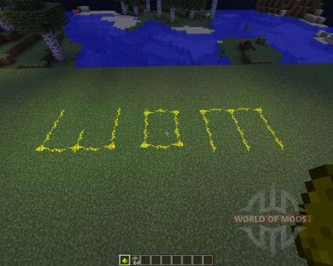 Glowstone Wire für Minecraft