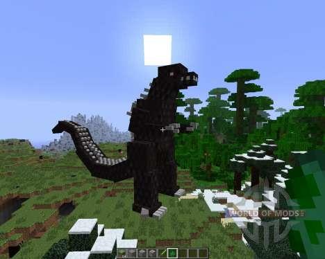 Godzilla [1.6.4] für Minecraft