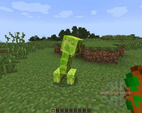 DiscoCreeper [1.7.2] pour Minecraft