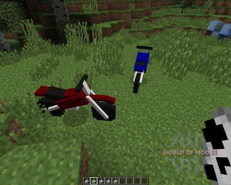 The Dirtbike [1.7.2] pour Minecraft