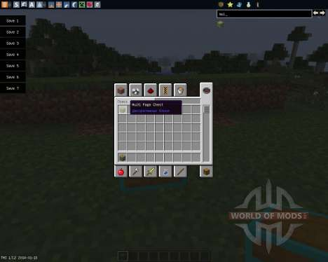 Multi Page Chest [1.7.2] für Minecraft