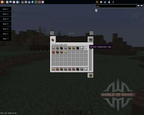 Vertical Slabs [1.7.2] für Minecraft