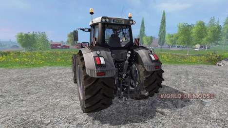 Fendt 936 Vario Black Full v8.0 pour Farming Simulator 2015