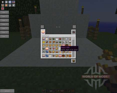 UsefulFood [1.5.2] pour Minecraft