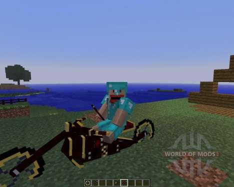 Steam Bikes [1.5.2] für Minecraft