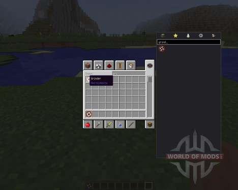 Attachable Grinder [1.8] für Minecraft