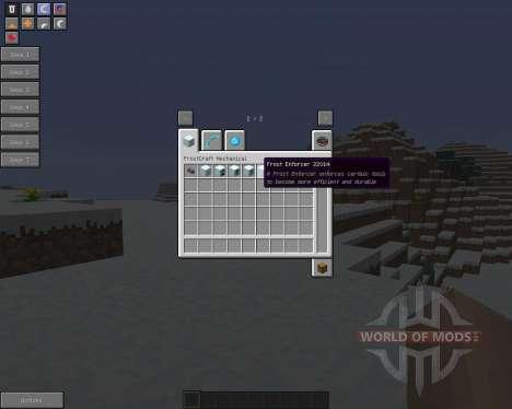 FrostCraft (Frozen) [1.5.2] pour Minecraft