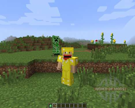 Tameable (Pet) Creepers [1.7.2] für Minecraft