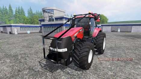 Case IH Magnum CVX 380 FL Forest v3.2 für Farming Simulator 2015