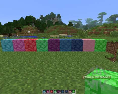 Colored Blocks [1.6.4] pour Minecraft