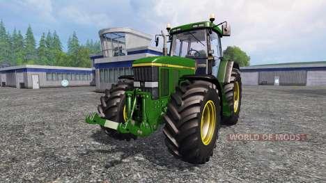 John Deere 7810 v2.0 [washable] pour Farming Simulator 2015