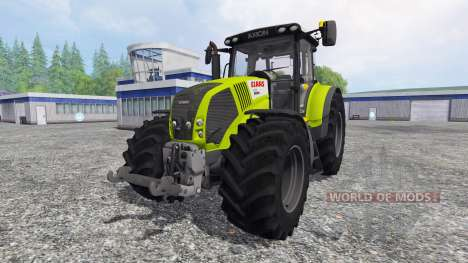 CLAAS Axion 850 v2.0 pour Farming Simulator 2015