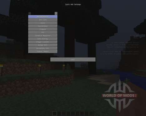 Zyins HUD [1.8] pour Minecraft