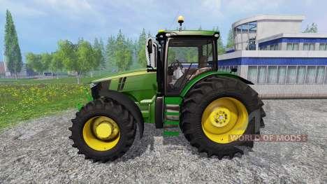 John Deere 7310R v3.0 pour Farming Simulator 2015