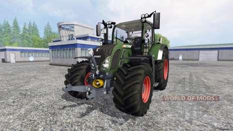 Fendt 718 Vario v4.0 pour Farming Simulator 2015