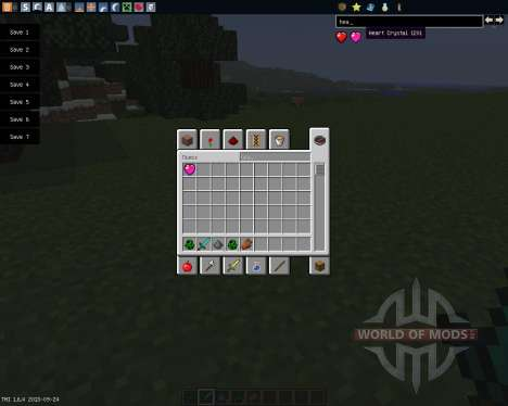Heart Crystals [1.6.4] für Minecraft