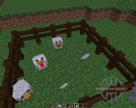 ChickenShed [1.8] für Minecraft