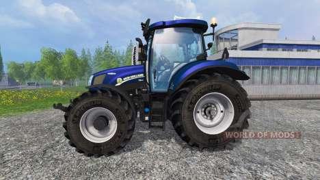 New Holland T6.160 v1.2 pour Farming Simulator 2015