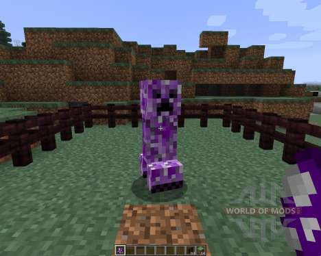 Inverse Creepers [1.7.2] pour Minecraft