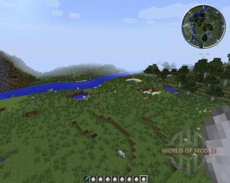 Zans Minimap [1.7.2] für Minecraft