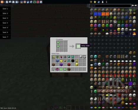 Jelly Cubes [1.6.4] pour Minecraft
