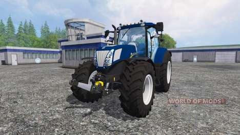 New Holland T7.270 blue power pour Farming Simulator 2015