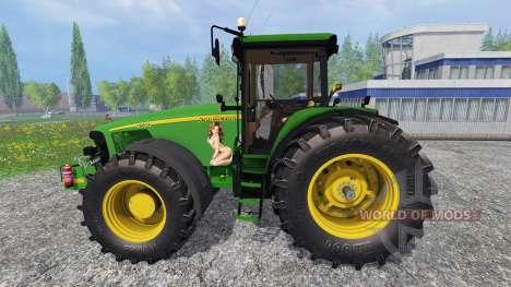 John Deere 8520 v3.1 pour Farming Simulator 2015