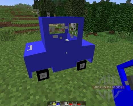 Cars and Drives [1.6.4] für Minecraft