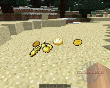 ShinyFood [1.6.4] pour Minecraft