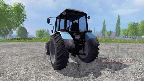 MTZ-Biélorussie 1025 v2.0 pour Farming Simulator 2015
