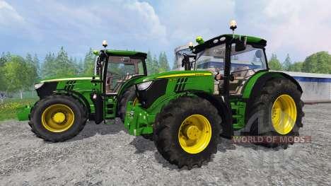 John Deere 6170R and 6210R v3.0 pour Farming Simulator 2015