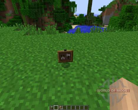 Super Crafting Frame [1.7.2] pour Minecraft