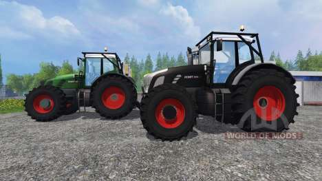 Fendt 936 Vario Forest Edition v1.2 pour Farming Simulator 2015