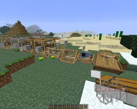 Ancient Warfare [1.6.4] für Minecraft
