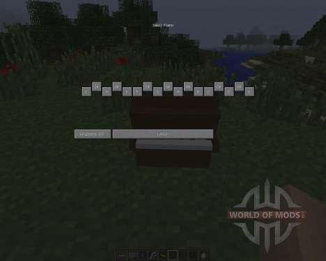 MusicCraft [1.7.2] pour Minecraft