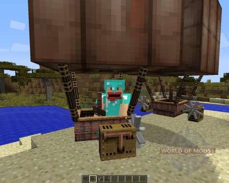 SteamBoat [1.7.2] für Minecraft
