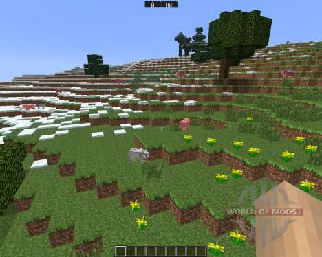 DirectionHUD [1.6.4] für Minecraft