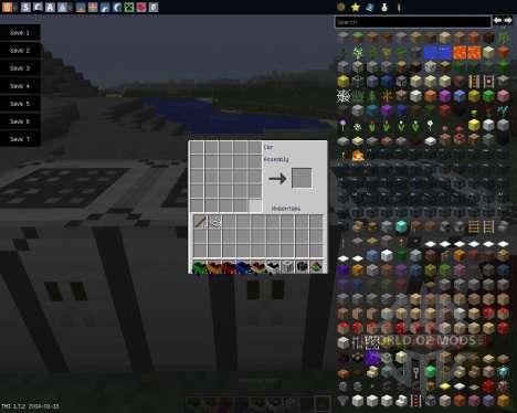 Javal Cars [1.7.2] für Minecraft