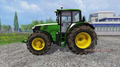 John Deere 6170M FL pour Farming Simulator 2015