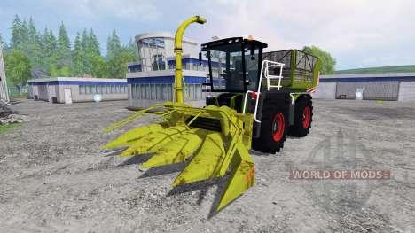 CLAAS Xerion 3800 Saddle Trac für Farming Simulator 2015
