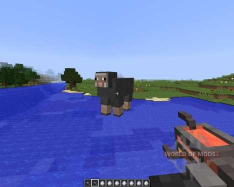 Gravity Gun [1.8] pour Minecraft