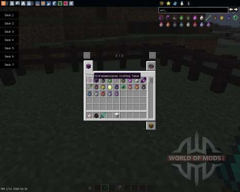 Extradimensional Item Storage [1.7.2] für Minecraft