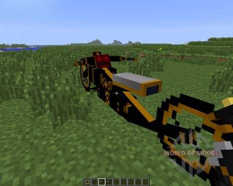 Steam Bikes [1.6.4] für Minecraft