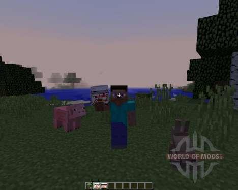 Nutellacraft [1.8] pour Minecraft