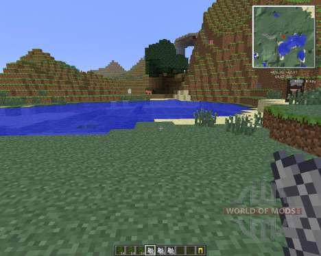 Reis Minimap [1.6.4] pour Minecraft