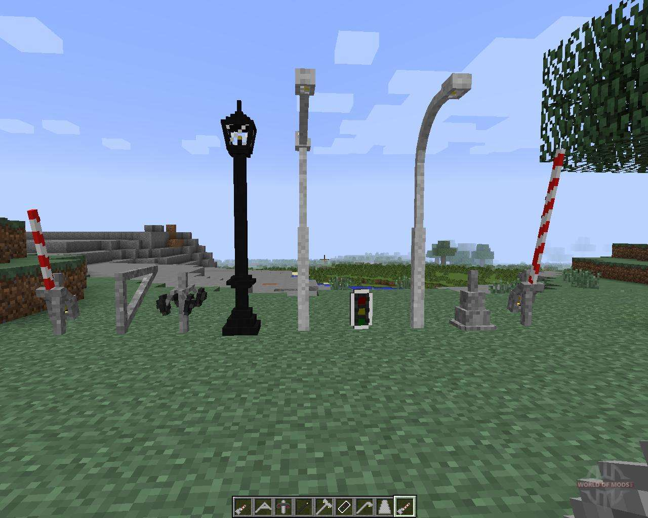 lamps and traffic lights 172 pour minecraft