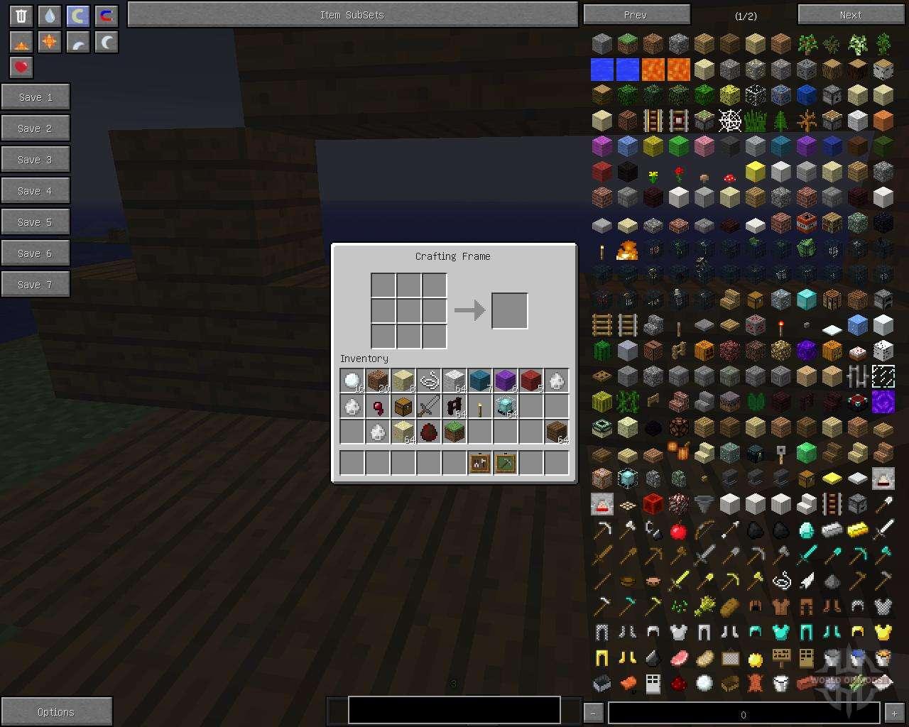 Super Crafting Frame [1.5.2] für Minecraft